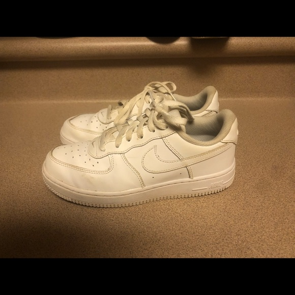 Nike Other - PreOwned Nike Air Force One White Boys 3 Youth